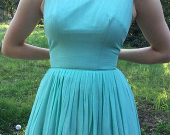 Vintage dress, XS, cotton summer dress from 1960's