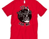 It's a Pirate's Life for Me. Cotton Unisex Adult Red Tee /Disney / Peter Pan / Captain Hook / Pirates of the Caribbean / Jake / Neverland