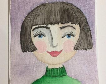 Original Watercolour : Isabella