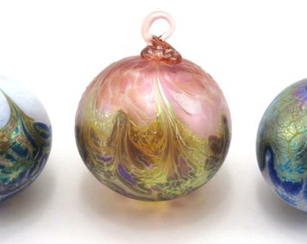Alchemy Ornaments - Handcrafted, Blown Glass Orbs