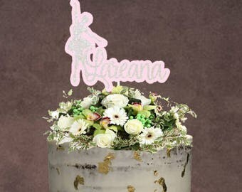 Ballet Cake Topper ~ Ballerina Cake Topper ~ Ballet Topper ~ Custom Made Topper ~ Dance Cake Topper ~ Dance Theme Party