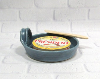 Brie Baker - appetizer dish - dip dish - baking dish - Ceramic Cheese Baker - Pottery Brie Baker - cheese plate - serving dish - bakeware