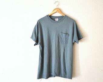1980's Green Pocket T-Shirt