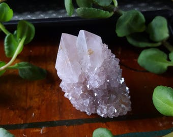 Spirit Quartz - Spirit Quartz Crystal - Lavender Spirit Quartz Cactus Quartz Fairy Quartz - Pastel Spirit Quartz Crystal - Spirit Quartz
