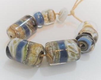 Lampwork Beads, Handmade Glass Beads, Handmade Supplies, Artisan Glass Beads