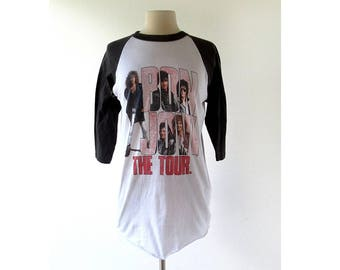 Bon Jovi 1987 Shirt | Bon Jovi Shirt | Slippery When Wet Tour | S M