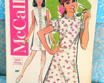 McCall's June 1968 Sewing Pattern Advertising Booklet - Fashion History, Ephemera, Collage, Summer Swimsuits, Leaflet, Catalog - GOOD Shape