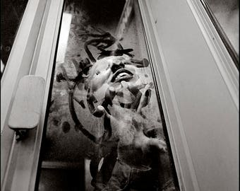 PHONE BOOTH LIPS, Doubles, Clyde Keller photo, 1971