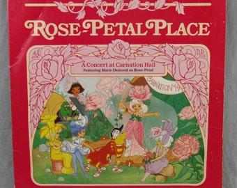 "Rose-Petal Place: A Concert at Carnation Hall Record Vintage 12"" Vinyl LP Album 1984 Marie Osmond"