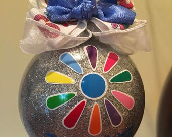 DAISY SCOUT Inspired Ornament! NOT affiliated w/ Girl Scouts of America. Personalized w/ Name and Troop! Perfect for Scouts or Troop Leader!