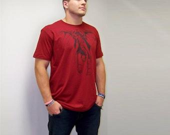 Back to school, T-shirt mens, graphic tee, Alabama shirt, Elephant shirt, American Apparel, boyfriend gift, football, sec, crimson tide