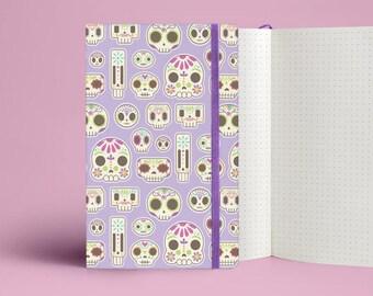 Sugar Skull Notebook