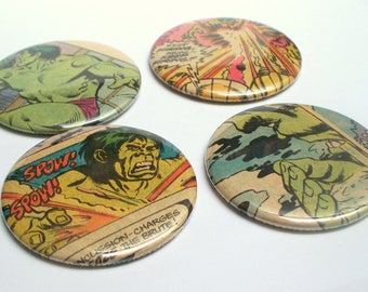 Marvel Comics The HULK 4 Pack Pocket Mirrors Great for Party Goody Bags or Stocking Stuffers