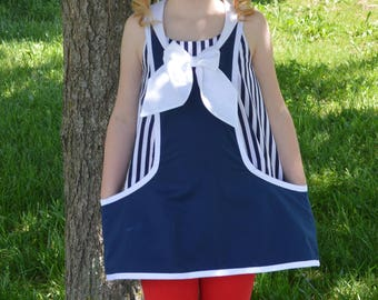 Girls Tunic Top PDF Sewing Pattern ... Sailor Top Pattern ... Trixie Tunic