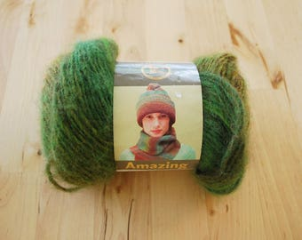 Lion Brand Amazing Wool Blend Yarn - Rainforest