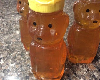 All natural, organic, 8 ounces pure sweet honey