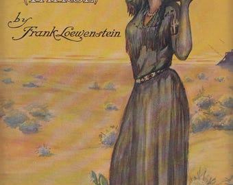 Indian Girl (Patrol) 1911 Sheet Music Frank Loewenstein Girl Carrying Jug
