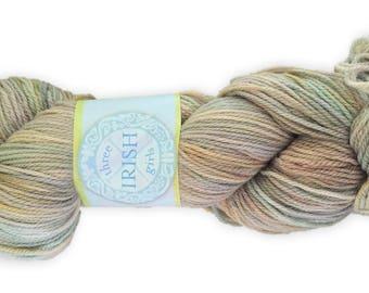 """1 Skein of THREE IRISH GIRLS Kells Sport Weight Yarn """"Maura"""" 320 Yards - 100 Grams - 100% Merino - Knitting - Crochet"""