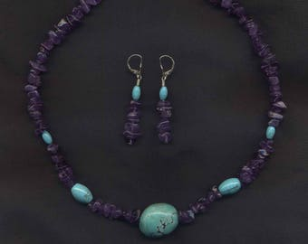Turquoise & Amethyst Suite