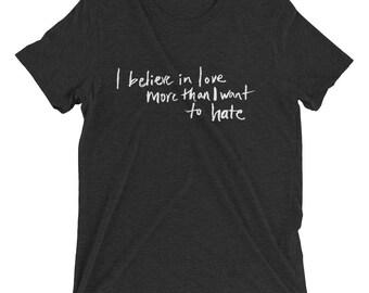Luxe Believe In Love T-shirt