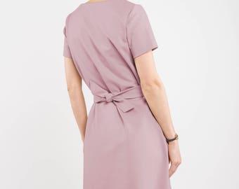 Short sleeve dress   Holiday dress   Leisure dress   LeMuse short sleeve dress