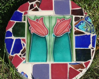 Porteous Tile Mosaic Stepping Stone
