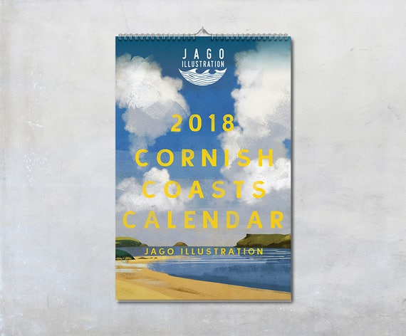 Cornish Coasts 2018 Calendar