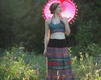 Gypsy / Skirt / Maxi / Boho / Hippie / Festival Clothing / Festival / Mexican / Guatemalan / Summer