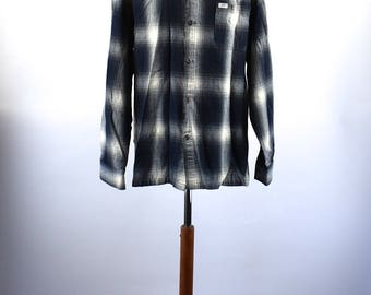 1980's Men's Flannel Shirt by Cal Top