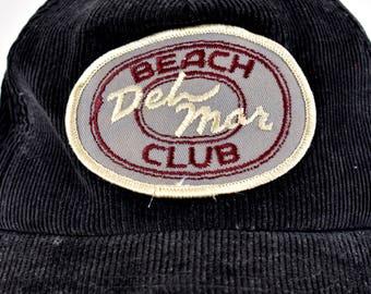 DEADSTOCK Corduroy Cap from Del Mar Beach Club