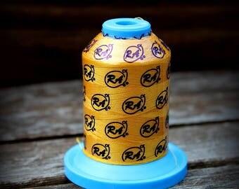 Yellow Thread, Brite Yellow, Embroidery Thread, Robison Anton, Machine Embroidery, Mini Spool, 1100 Yards, Polyester Thread, Super Brite