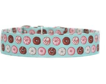 Donuts Dog Collar / Custom Dog Collar / Martingale