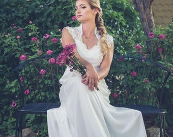 Heirloom 1970's Wedding Gown - Redesigned