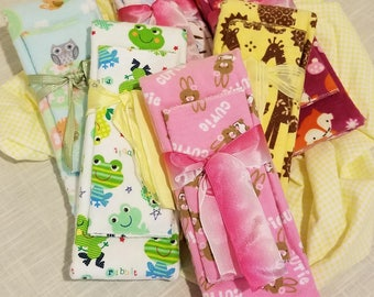 Infant Receiving Blanket Sets - second Animals
