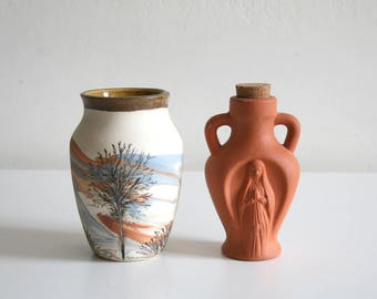 Sevierville and Virgin Mary Pottery Collection