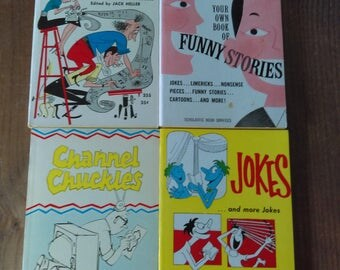 Joke Book Collection of Scholastic Paperbacks from 1960s