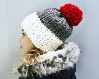 CROCHET PATTERN, The Caysen Crochet Hat Pattern, Easy Hat Pattern, Beginner Pattern, Craft Supply, DIY Hat Pattern