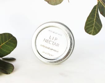 Lip Mask | For Dry, Chapped + Cracked Lips | 100% natural + vegan lip butter