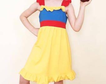 Snow White Inspired Princess Play Dress