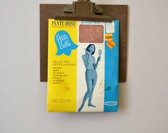 1960s NOS Petite Belle Panti-Hose, Size Medium