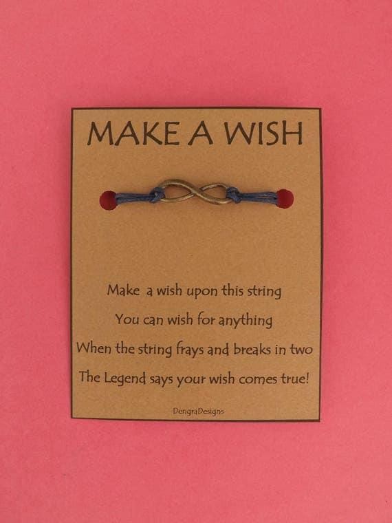 Infinity Wish String Bronzetone