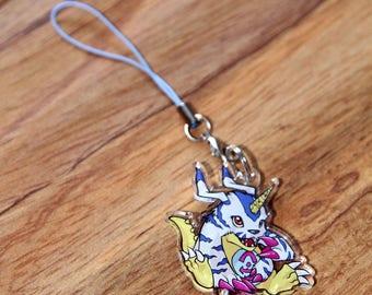 Gabumon - Digimon Phone Charm