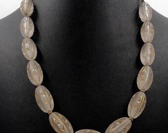 Vintage German Lucite Necklace