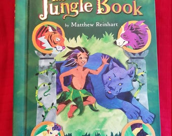 "Pop Up Book ""The Jungle Book  - Matthew Reinhart"""