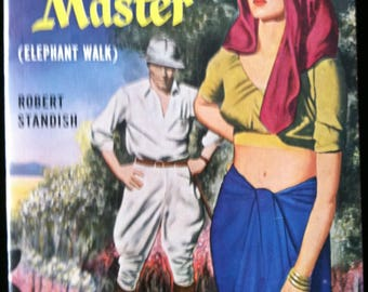 Vintage Paperback Bantam 796 Lord and Master (Elephant Walk) by Robert Standish 1950 NM Unread