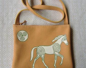 White Pictish horse bag
