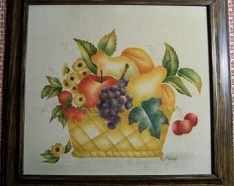 Fruit Basket Theorem Painting