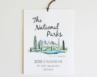 2018- Edition #1 National Park Calendar