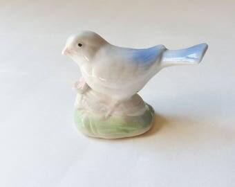 Miniature Bird Figurine