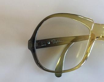 Vintage 80s SAPHIRA German Eyeglasses
